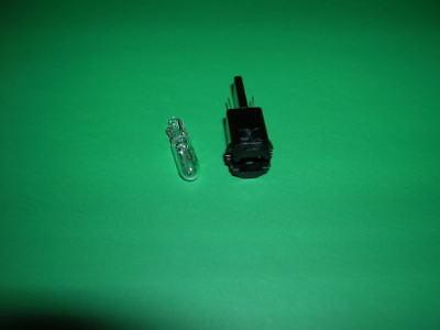 Vw Scirocco -81 Heater Control Light Socket + Bulb