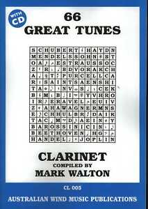 66-GREAT-TUNES-Bb-CLARINET-BOOK-WITH-CD-MARK-WALTON