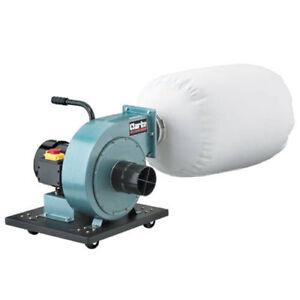 CLARKE-WOODWORK-1-HP-CHIP-COLLECTOR-DUST-EXTRACTOR-230v-750watt-6470310