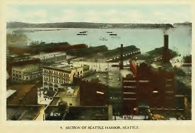 Seattle WA Washington History Pioneers Genealogy Biography 12 Book Set D115