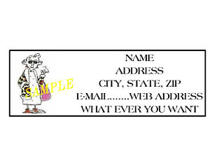 Maxine address labels cool 2 ebay for Cool return address labels