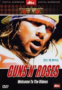 Guns N' Roses: Welcome To The Videos DVD