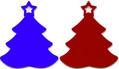 100 Christmas Trees Laser Red Gold Blue Green Anodized Aluminum