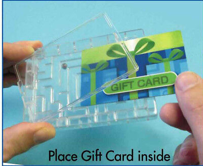 6 Pack Gift Card Maze Puzzle Money Fun Challenge Gag Christmas Present Holder