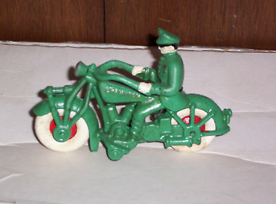 Kyпить CHAMPION CAST IRON TOY POLICE MOTORCYCLE-HARLEY,INDIAN  на еВаy.соm