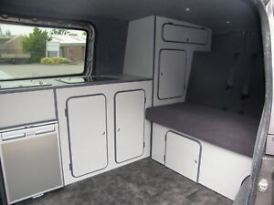 MERCEDES VITO CAMPER VAN INTERIOR CONVERSION KIT FITTED DAY SURF ROCK ROLL BED