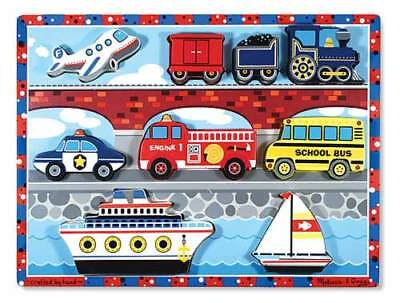 Melissa & Doug 9 Piece Safari Vehicles Puzzle Toys