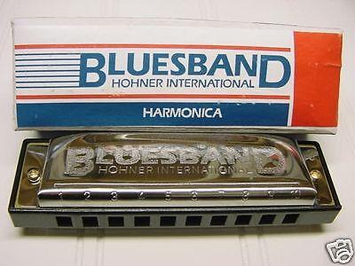 HOHNER BLUES BAND HARMONICA - KEY OF C - GREAT GIFT IDEA - NEW!! on Rummage
