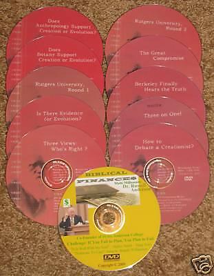 Finance+ FREE Kent Hovind Debate DVD 10 Volume Set #2