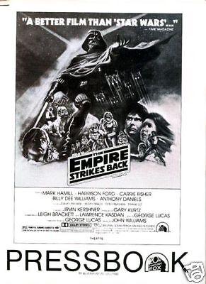 THE EMPIRE STRIKES BACK original 34 page 1980 pressbook