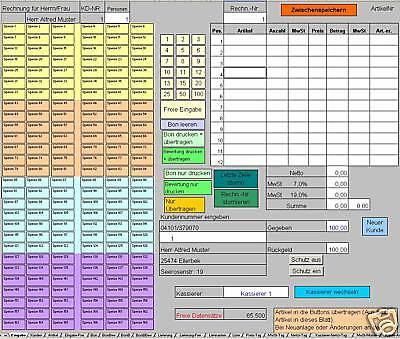 Profi - Gastrokasse - Kassensystem in der Gastronomie (plus Konsolidierung)