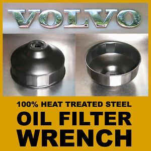 VOLVO Cap Style Oil Filter Wrench 86mm 16 Flutes 3/8