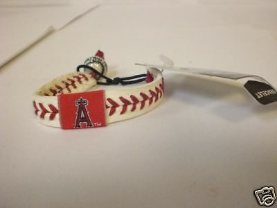 Anaheim Angels Baseball Seam Bracelet One Size Fits All