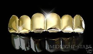 Teeth * GRILLZ *  Zahnaufsatz  * Gold f. * Hip Hop Bling