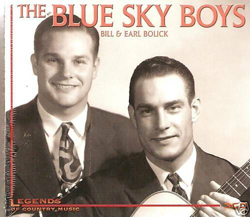 THE BLUE SKY BOYS BILL & EARL BOLICK COUNTRY MUSIC