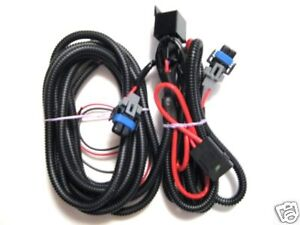 mustang pony package fog light wiring harness 2005 09