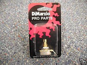 DiMarzio 250K Short Shaft Potentiometer Pot EP1200 | eBay