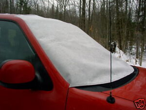 truck car windshield cover for snow ice and frost ebay. Black Bedroom Furniture Sets. Home Design Ideas