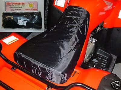 HONDA TRX ATV QUAD  WATERPROOF SEAT COVER  FREE POSTAGE