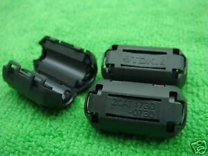 6-TDK-7mm-Clip-On-EMI-RFI-Filter-Snap-Around-Ferrite