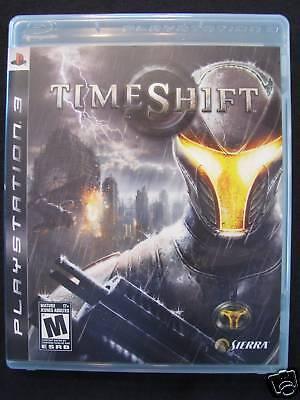 TimeShift  (Playstation 3, 2007) MINT!