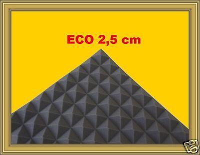Stok 90pz.PANNELLI Abstumpfung Pyramiden 48x48x2,5cm