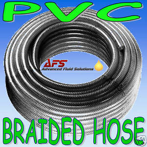 6mm-1-4-BRAIDED-PVC-HOSE-CLEAR-TUBING-WATER-AIR-PIPE-1