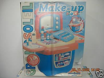 Make-up Box Con Maniglia + 19 Accessori Grazioli Anni '90