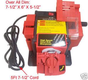 multi sharp drill bit sharpener instructions