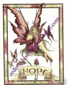 Amy-Brown-Note-Gift-Card-Hope-Faery-Fairy-Butterfly-New