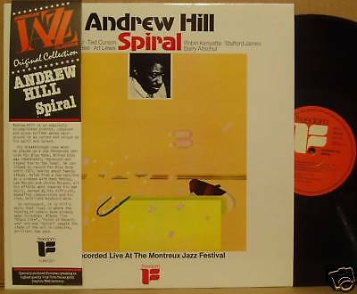 LP Andrew Hill Spiral Live in Montreux Freedom NM