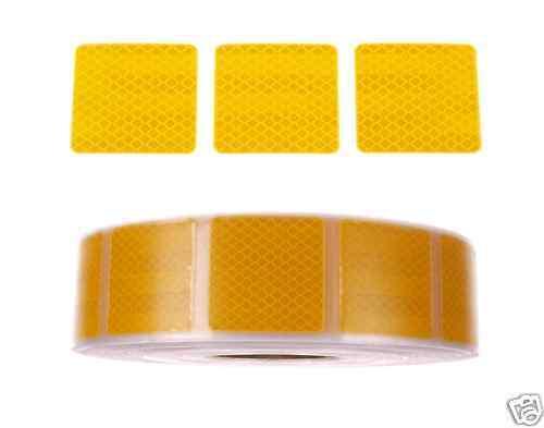 1m 3M Reflexfolie Reflexstreifen Konturmarkierung Gelb