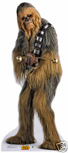 Sticker j force 2 - Chewbacca Wookie Star Wars Lifesize Cardboard Standup