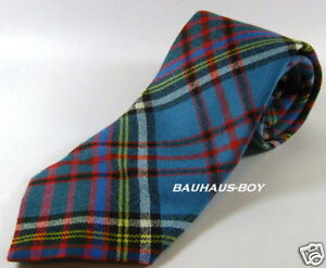 NECK-TIE-MODERN-ANDERSON-TARTAN-WORSTED-WOOL-SCOTTISH-MADE-KILT-HIGHLANDWEAR-NEW