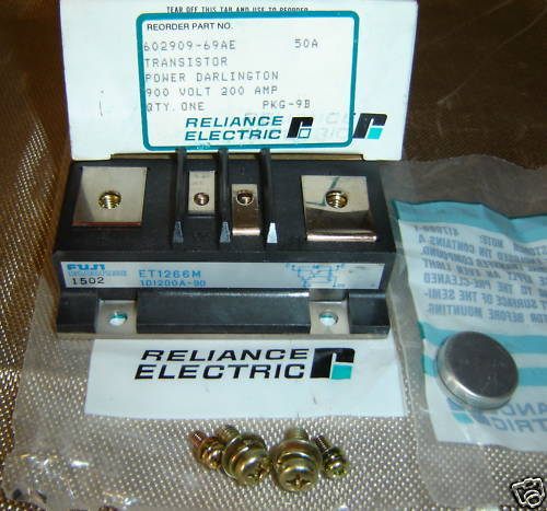 RELIANCE ELECTRIC 602909-69AE TRANSISTOR ET1266M