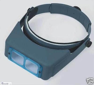 """Donegan OptiVISOR® Binocular Magnifier DA-10, 3-1/2X,4"""""""