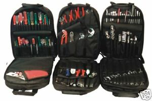 TOOLPAK BACKPACK TOOLBAG by PAKTEK tool pack  toolbox B