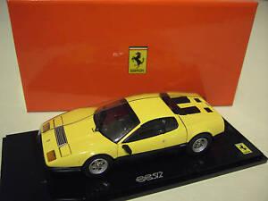 FERRARI 512BB 512 BB amarillo au  KYOSHO 05011Y voiture miniature de collection