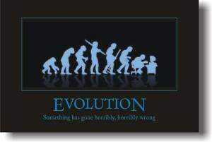 Evolution-Something-Gone-Wrong-Funny-Joke-NEW-POSTER