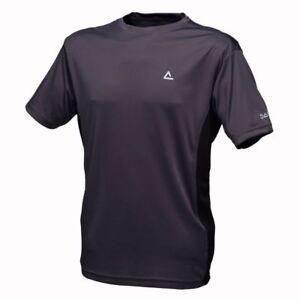 Mens-Dare2b-Blocade-Grey-Short-Sleeve-T-Shirt