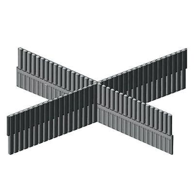 Dj Equipment Rackmount Cases & Chassis Trennsteg Tief L= 35,5cm Für 19'' Rackschubladen Schubladen Divider-trennwand