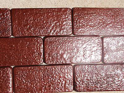 24+6 Free 1151 Concrete Veneer Molds Make 1000s Of Brick Cobbles, Tile, Pavers