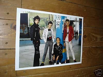 The Clash Fantastic New Colour Poster