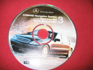 2002-MERCEDES-NAVIGATION-DISC-CD-Q6460087-NORTH-CENTRAL