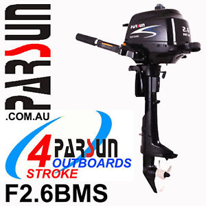 2-6HP-PARSUN-Outboard-4-stroke-Short-Shaft-BRAND-NEW-2yr-FULL-FACTORY-Warranty