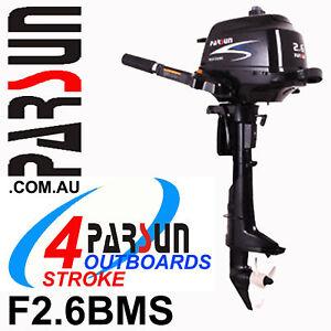 2-6HP-PARSUN-Outboard-4-stroke-Short-Shaft-BRAND-NEW-2yr-FULL-FACTORY-Warranty