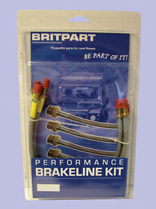 Land-Rover-Discovery-1-Extended-Stainless-Steel-Braided-Brake-Hose-KitDA241340S