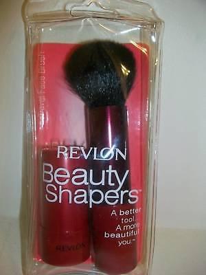Revlon Beauty Shapers Travel Face Brush Applicator Red