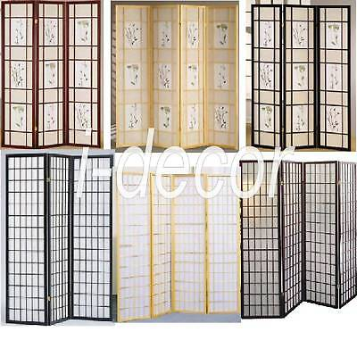 4 & 3 Panel Wood Shoji Room ...