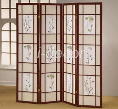 4-3-Panel-Wood-Shoji-Room-Divider-Screen-Oriental